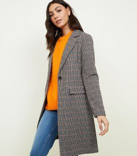 2. brown-houndstooth-check-coat-
